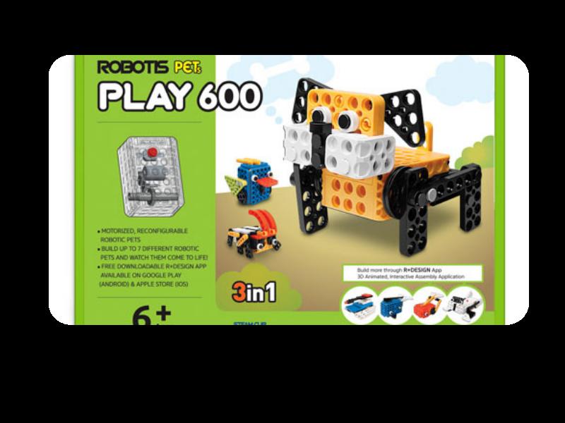 robotis pet play 600