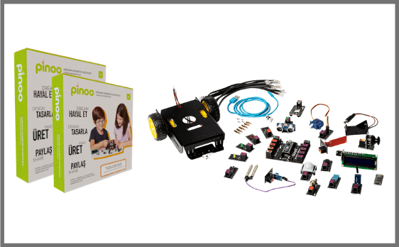 Pinoo Kodlama ve Robotik Setleri